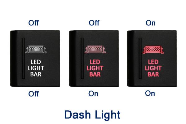 Amarok Push Switch A112l Roof Lights On