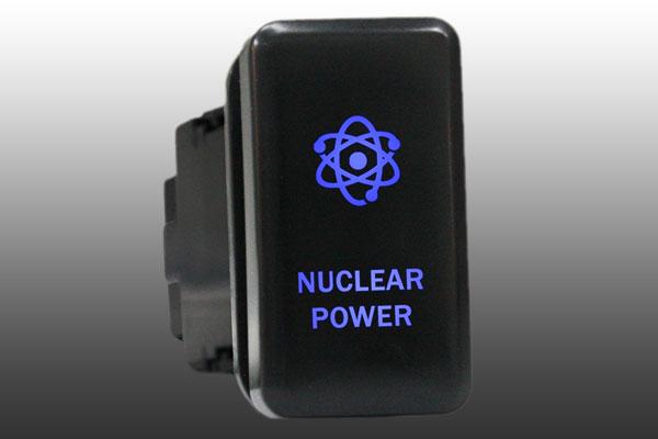 12V Push switch 851B WINCH POWER For Toyota Tacoma Tundra HiAce LED BLUE on//off