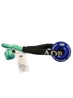 Recovery Kit 1 x BLUE Snatch Ring 17,650lbs (8000kg) + 1 x GREEN Soft Shackle 19,850lbs (9000kg)