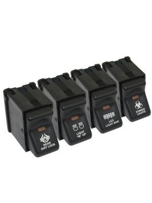 Four 300 TJ JEEP Rocker Switches